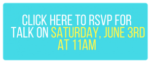 RSVP for Saturday June 3rd at 11AM 2