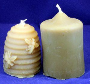 Heavenly Honey Candles